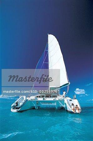 Virgin Islands, bateau à voile