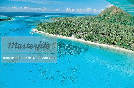 Polynésie, l'île de Moorea, Haapiti