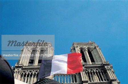 France, Paris, Pavillon sur Notre Dame