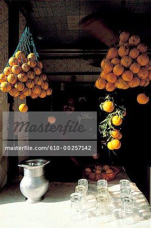 Le Caire, jus d'orange