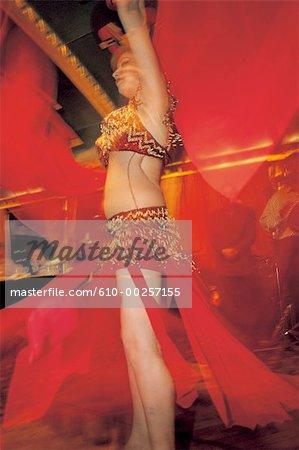Le Caire, danseuse du ventre