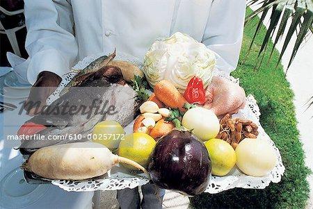 Sénégal, Saly, fruits et légumes