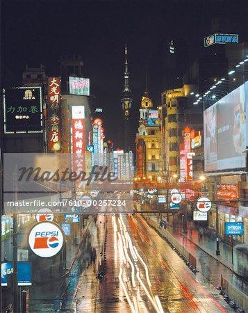 Route de la Chine, Shanghai, Nanjing