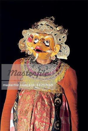 Indonesia, Bali, Telepud, Ramayana evil character