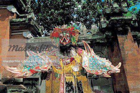 Caractère Ramayana Bali, en Indonésie, du Dieu Garuda
