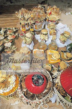 Indonesia, Bali, Offerings