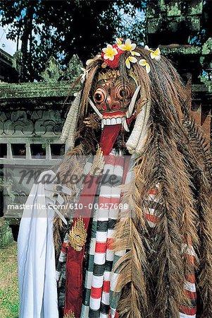 Indonesia, Bali, Ramayana character, Rangda the witch
