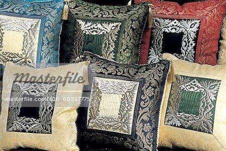 Turkey, Istanbul, Grand Bazaar, turkish cushions