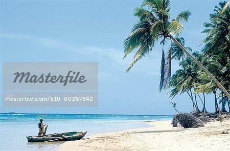 République dominicaine, la plage de Punta Bonita