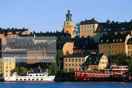 Suède, Stockholm, Södermalm