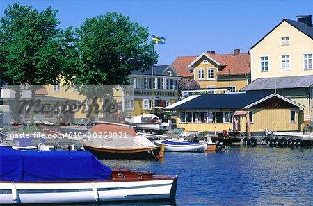 Suède, archipel de Stockholm, Sandhamn