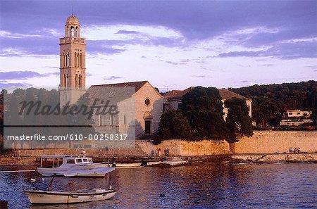 L'île de Hvar en Croatie