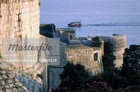 Forteresse de Minceta Croatie, Dubrovnik, XIVe-XVe siècle