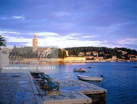 La Croatie, l'île de Hvar