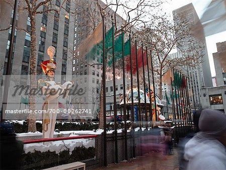 Rockefeller Center à Noël New York City, New York USA