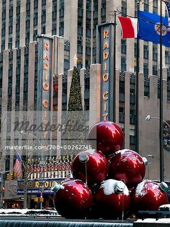 Radio City Music Hall à Noël New York City, New York USA