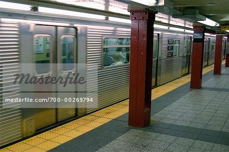 Subway, New York City New York, USA