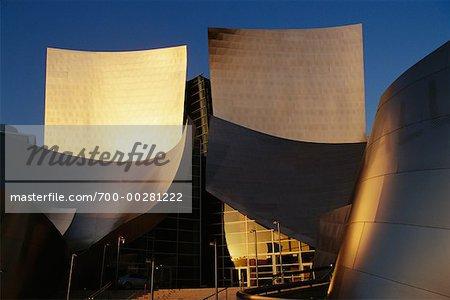 Walt Disney Concert Hall Los Angeles, Californie, USA