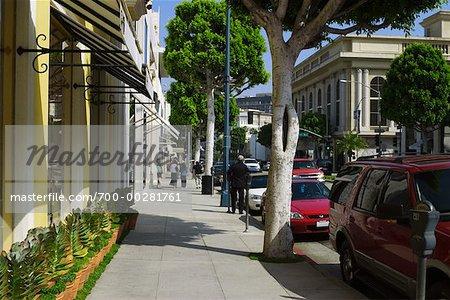 Rodeo Drive, Beverly Hills, Los Angeles, Californie, Etats-Unis