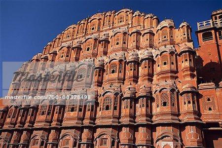 Building Jaipur, Rajasthan India