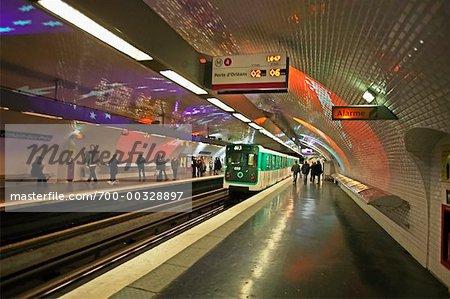 Subway Paris, France