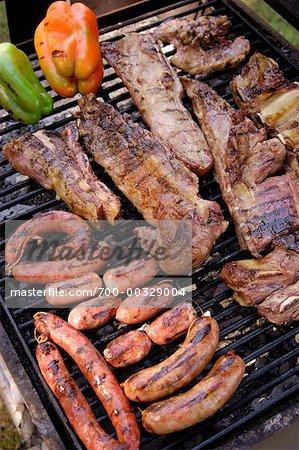 Barbecue argentin traditionnel