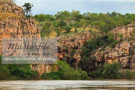 Territoire du Nord de Katherine Gorge Nitmiliuk National Park, Australie
