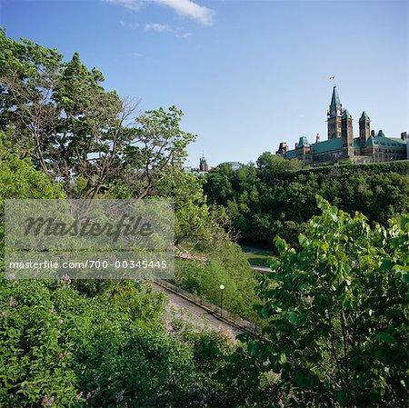 Colline du Parlement Ottawa, Ontario, Canada