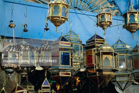 Laternen in Markt-Tunis, Tunesien, Afrika
