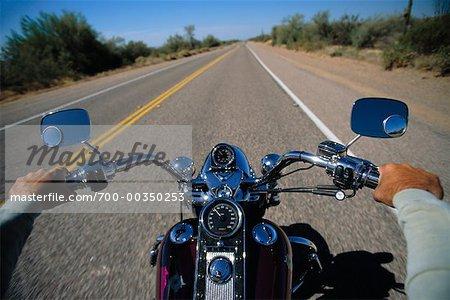 Vue de moto