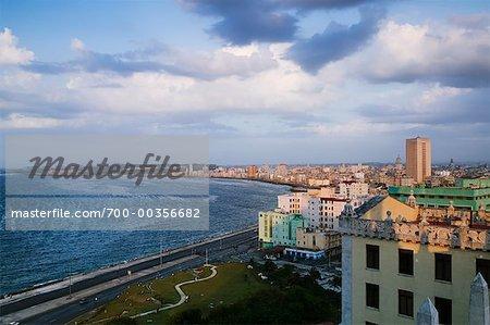 Le Malecon, la Havane, Cuba