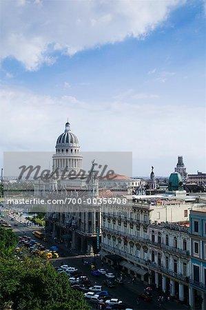 El Capitolio et hôtel Inglaterra, la Havane, Cuba