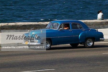 Vintage Car la Havane, Cuba