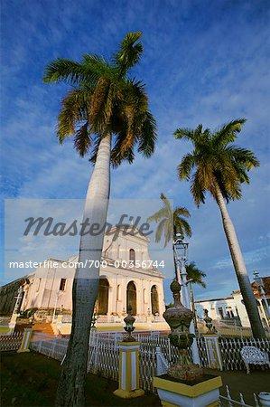 Iglesia Santisima Trinidad Plaza Mayor Trinidad de Cuba, Cuba