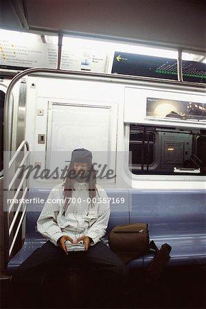 Man on Subway