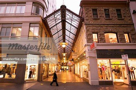 Magnifique ville sept Arcades Melbourne, Victoria, Australie