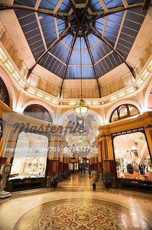 Le Block Arcade magnifique ville sept Arcades Melbourne, Victoria, Australie