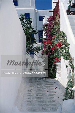 Île de Mykonos, Grèce