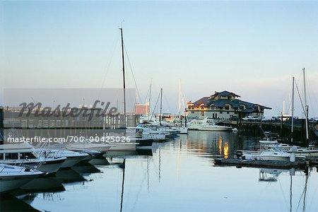 Boston Harbor, Boston, Massachusetts, USA