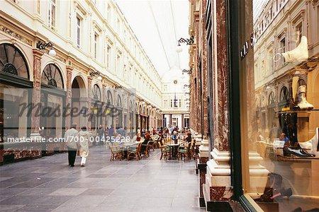Galeries royales de St Hubert, Bruxelles, Belgique
