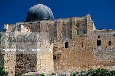 Mosquée Al-Aqsa à Jérusalem, Mont du Temple