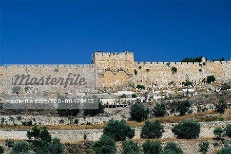 Les portes d'or, Jérusalem, Israël