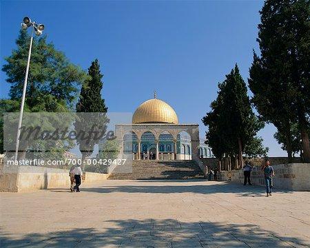 Le dôme du rocher, Jérusalem, Israël