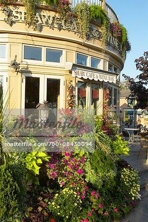 Shaw café et Bar à vin, Niagara-On-The-Lake, Ontario, Canada