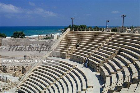 Théâtre romain de Caesarea, Caesarea, Israël