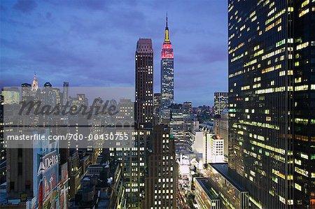 Midtown Manhattan Skyline, New York City, New York, USA