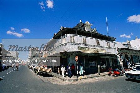 Scène de rue, Port Louis, Ile Maurice
