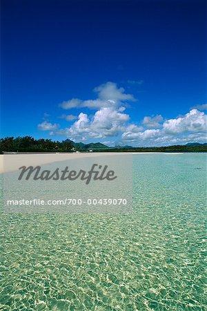 Ile aux Cerfs, Ile Maurice, océan Indien
