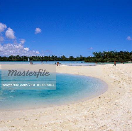 Ile aux Cerfs Beach, Ile Maurice, l'océan Indien