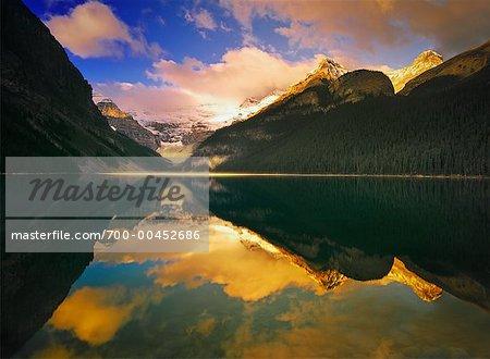 Sunrise, Lake Louise, Banff National Park, Alberta, Canada